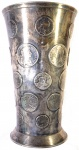 Cup Made From 30 Early British Silver Coins